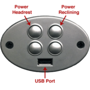Vander Berg Furniture & Flooring - Power Headrest Southern Motion
