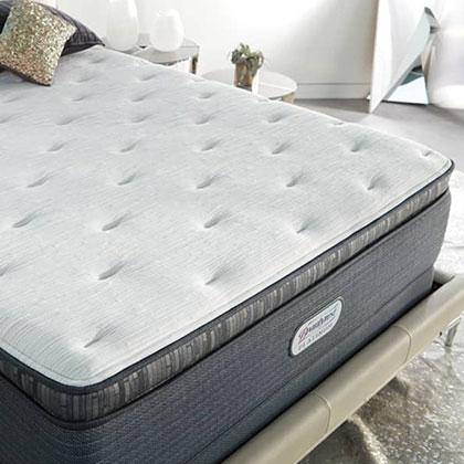 Beautyrest Platinum Haddock Meadow Plush Pillow Top Mattress