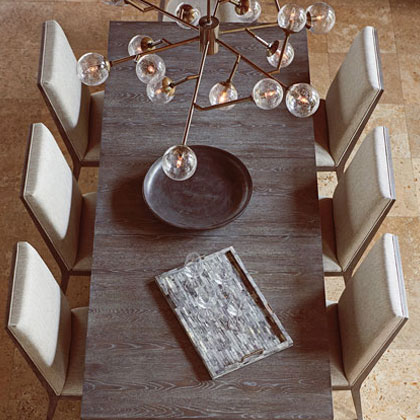 Modern Dining Set Table And Chairs For Vander Berg Furniture Flooring