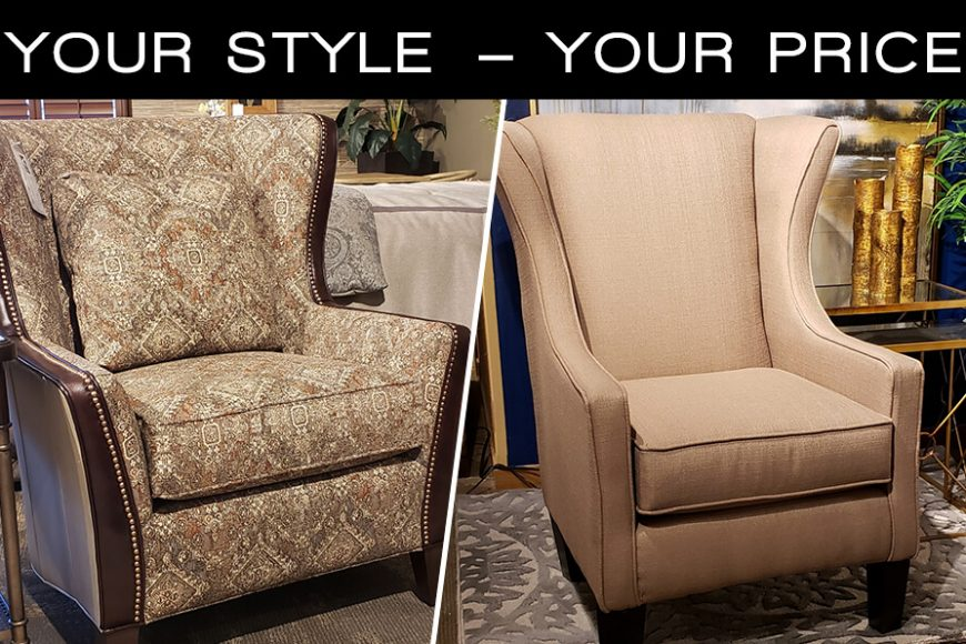 Large Accent Chair Vander Berg Furniture And Flooring Sioux Center Ia