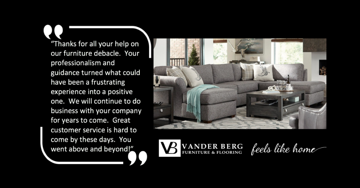 Customer Reviews | Vander Berg Furniture